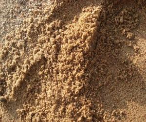 Обогащенный строительный песок