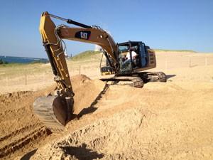 Как выглядит строительный песок